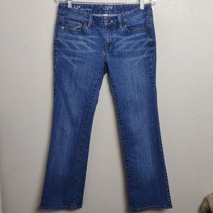 Loft Ann Taylor  Original Boot Cut Jeans  6P